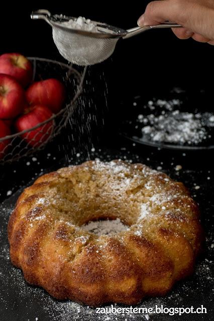 Rezept Gugelhopf, Rezept Apfelgugelhopf, Rezept, Foodblog Schweiz