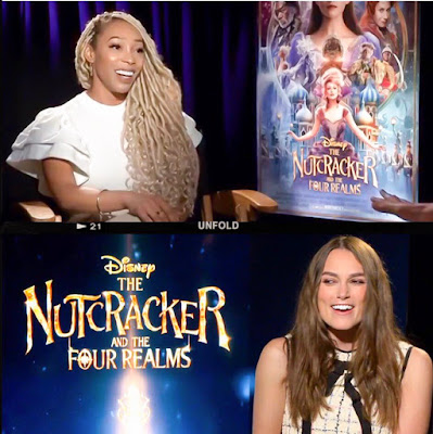 sade spence entertainment reporter keira knightley the nutcracker and the four realms
