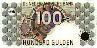 bankbiljet van 100 gulden