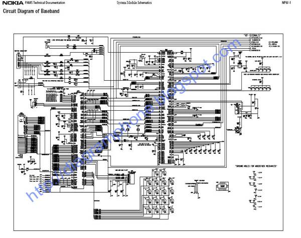 Nokia 3361 Schematic Diagram