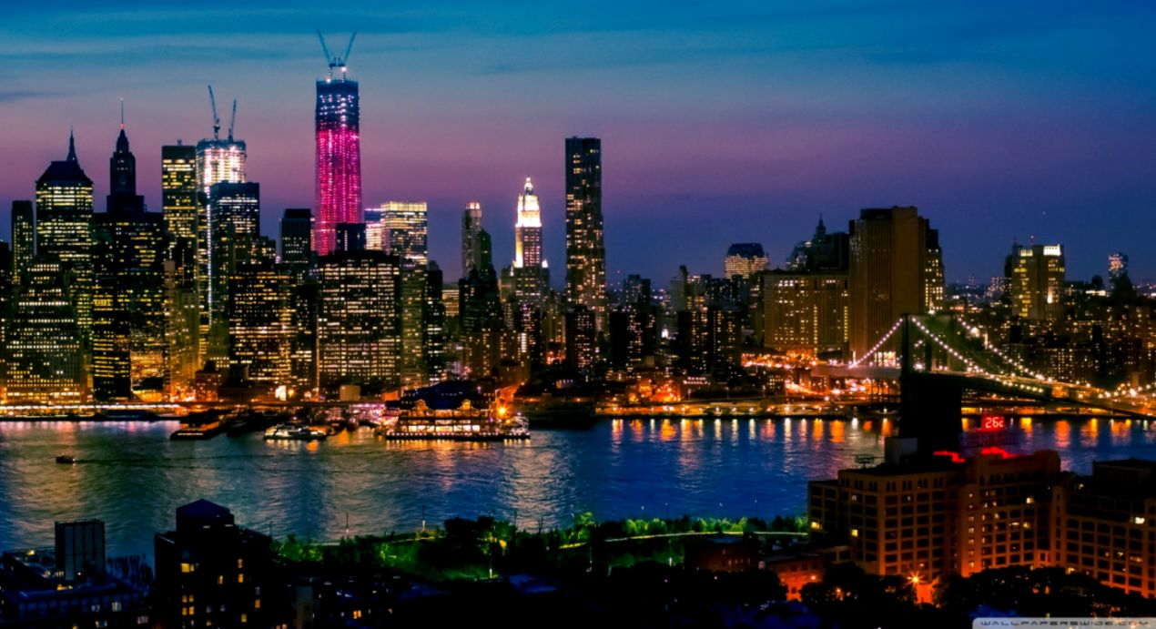 New York City Lights Wallpaper Hd Wallpapers Galery