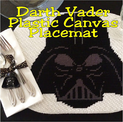 Create an out of this world Star Wars dinner party with this plastic canvas Darth Vader placemat pattern. If you know the basics of plastic canvas, you'll be able to easily sew this Darth Vader plastic canvas pattern and be the hero of the galaxy.
