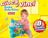 Logo Pampers ''Giova e vinci Rockit Baby Ritmo - 2° edizione'' e vinci 108 Rockit Baby Ritmo
