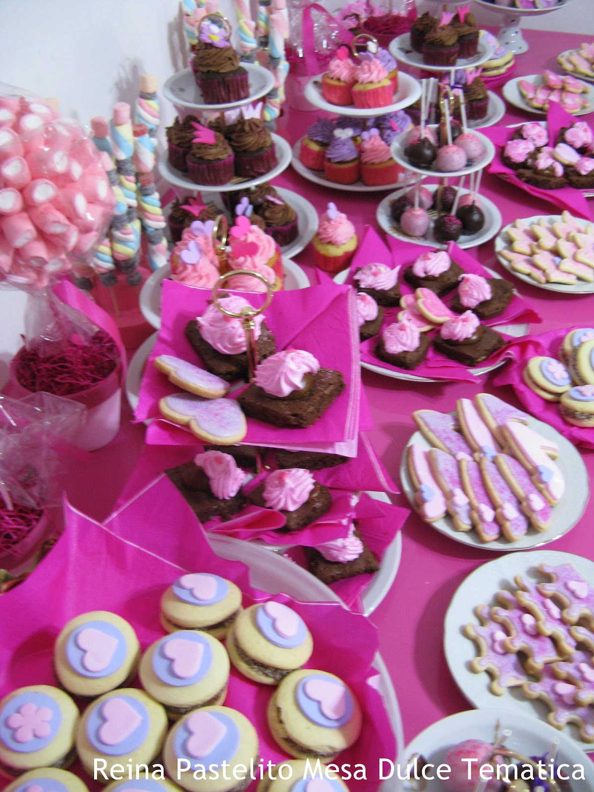 Reina Pastelito Cupcakes Tortas Mesa Dulce Princesas