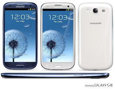 Smartphone Samsung Galaxy S III Harga dan Spesifikasi