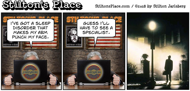 stilton's place, stilton, political, humor, conservative, cartoons, jokes, hope n' change, PLMD, exorcist, possession
