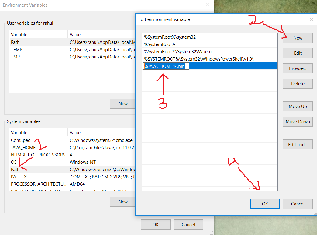 How To Set Java Environment Variable In Windows 10