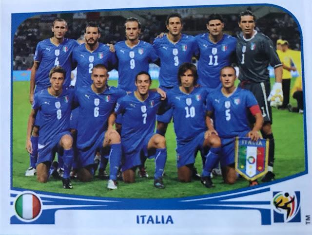 Figurina Italia, Album SudAfrica 2010