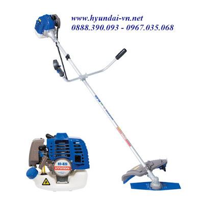 Máy cắt cỏ chạy xăng hyundai HD-826, máy cắt cỏ chính hãng Hyundai, máy cắt cỏ chạy xăng, máy cắt cỏ cầm tay