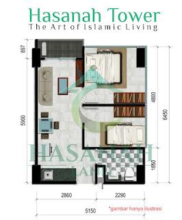 Apartemen Syariah di Sentul Jakarta The Art Tower