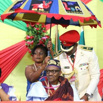 Buhari chieftaincy title benin
