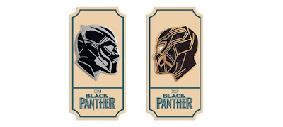 Black Panther Enamel Pins by Matt Taylor x Mondo