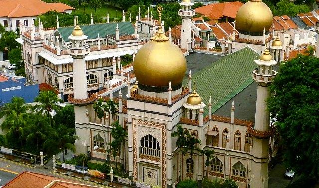 Tempat Wisata Terbaik di Singapura - Masjid Sultan