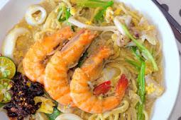 Fried Hokkien Prawn Noodles 福建炒虾面