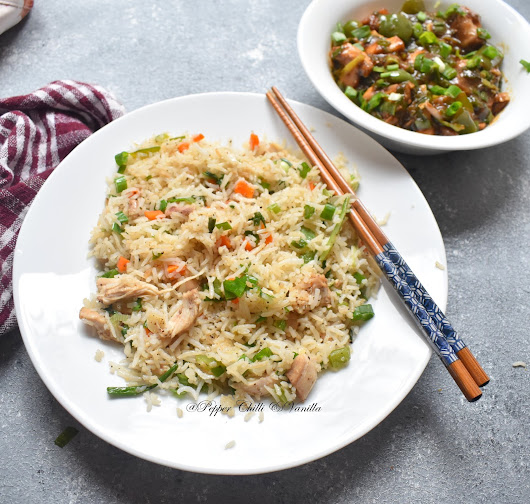 Chicken Fried Rice Recipe /Restaurant style Chinese Fried Rice