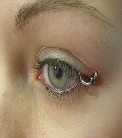 Eyelid Piercing Women Fashion M...