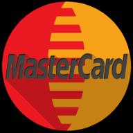 mastercard colorful button