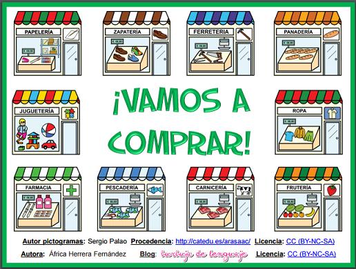 Coleccion De Juegos Vamos A Comprar Juego De Mesa Educativo Para