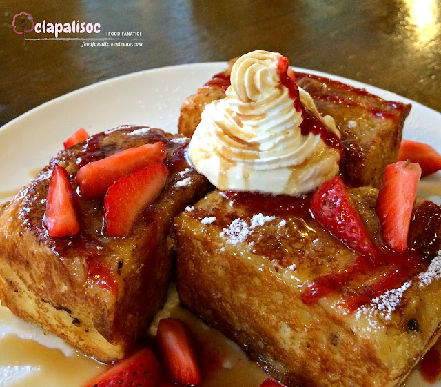 Strawberry French Toast from Single Origin Rockwell