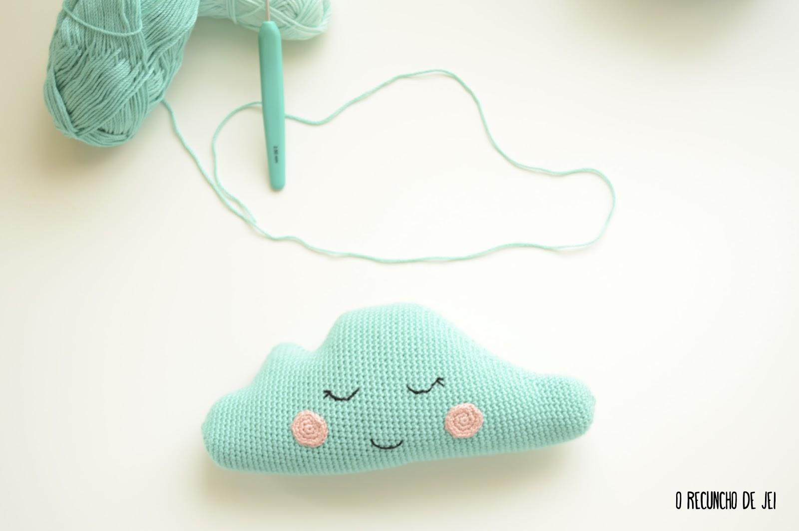 Perfecto Patrón De Crochet Nube Motivo - Ideas de Patrón de Vestido ...