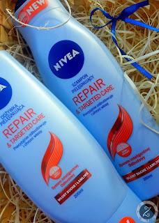 Jak działa nowa linia kosmetyków Nivea Repair & Targeted Care do włosów suchych i łamliwych?