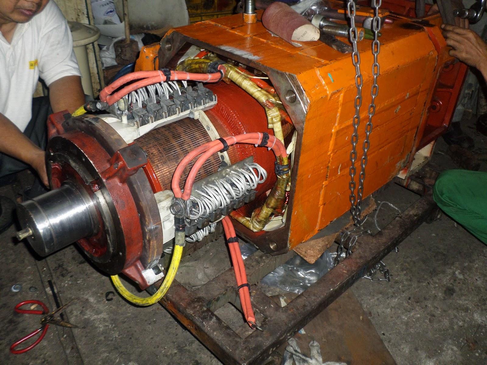 rewinding motor dc  rewinding motor ac 3 phase  rewinding