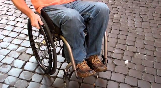 Deficientes físicos em Roma