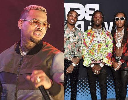 The video of Chris Brown and Migos brawl at BET after-party has been released