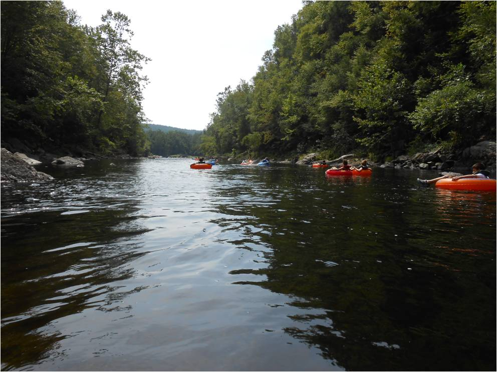 Home Place: Tubing down the Farmington River in CT
