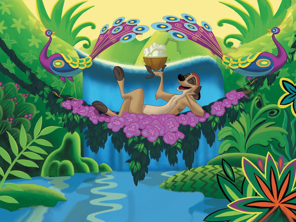 Fondo De Pantalla Disney El Rey Leon Timon Wallpapers Megas