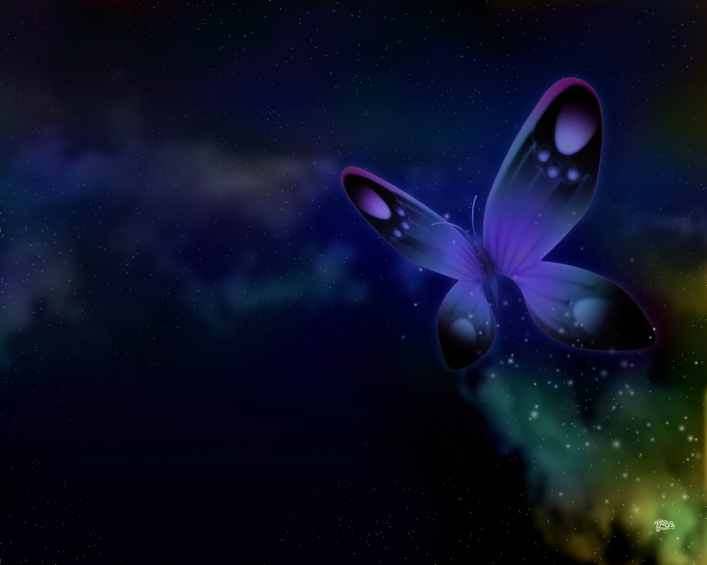 dark butterfly wallpaper desktop - photo #4