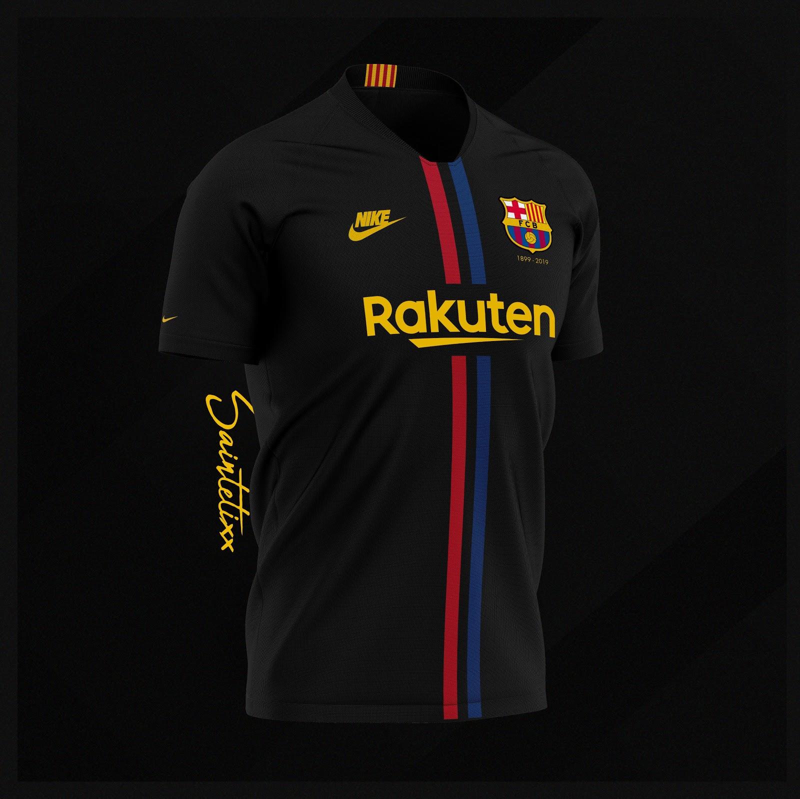 buy online 76d98 eb574 Nike FC Barcelona 120-Years Anniversary Home, Away & Third ...