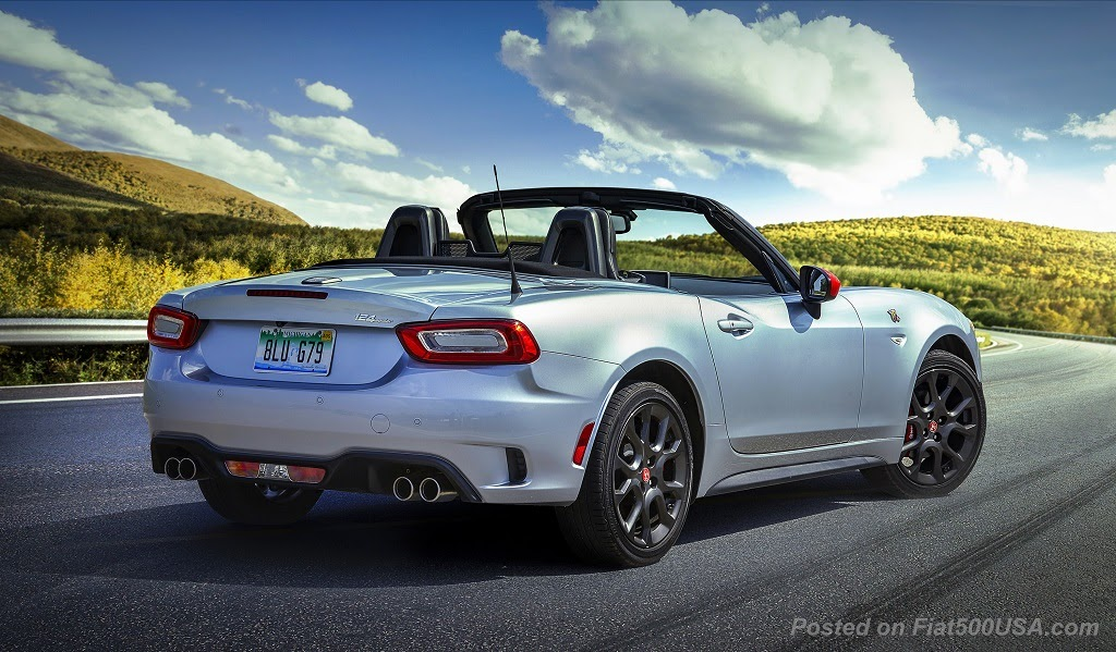 2020 Fiat 124 Spider Model Year Changes Fiat 500 Usa