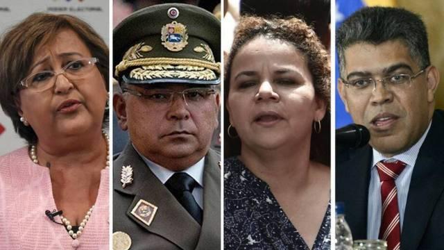 Estados Unidos confirma sanciones a 13 funcionarios del gobierno bolivariano