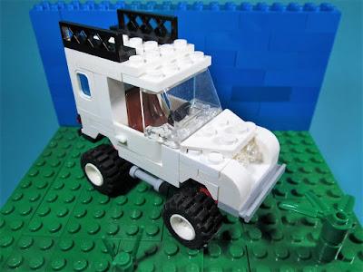 MOC LEGO Land Rover