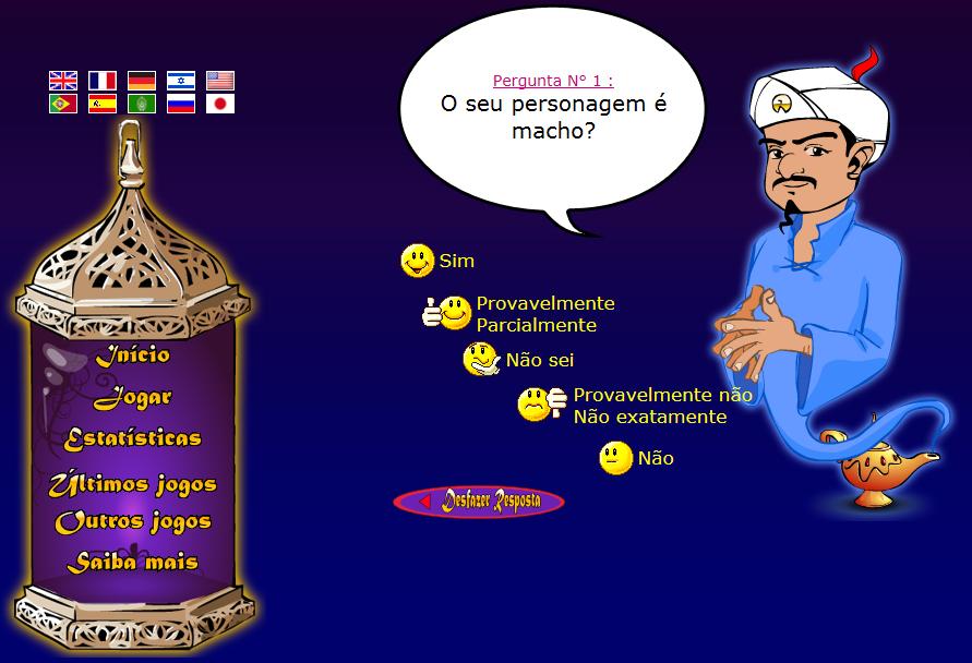 akinator o genio da internet em portugues