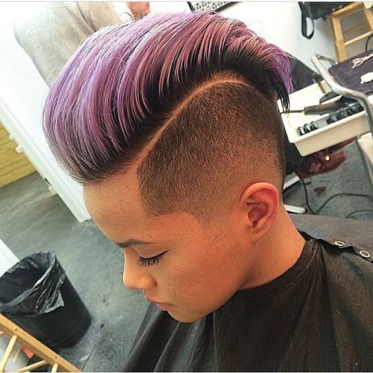 wild and artistic hairstyles and colors