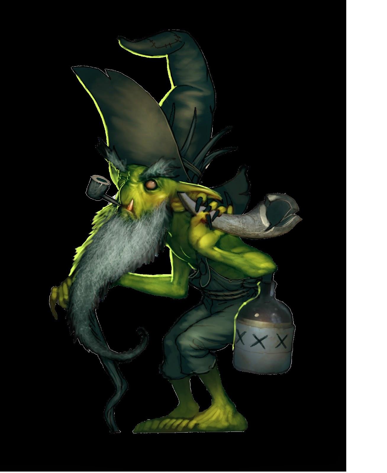 Old Cranky Gremlins Wyrd Forums
