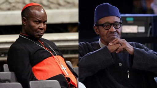 Cardinal Okogie Tackles President Buhari On Leadership