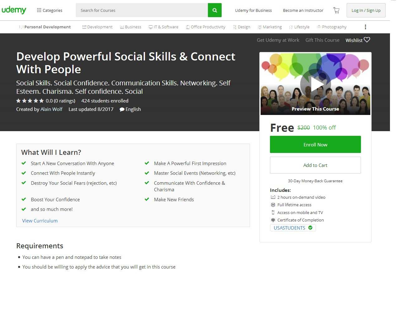 Udemy coupon code 75 off