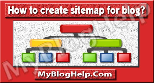 Sitemap of blog