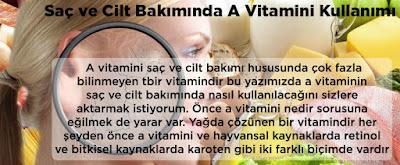Saç ve Cilt Bakımında A Vitamini Kullanımı