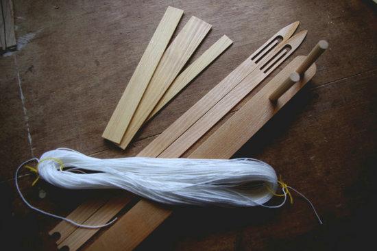 ランディングネット手編みセット