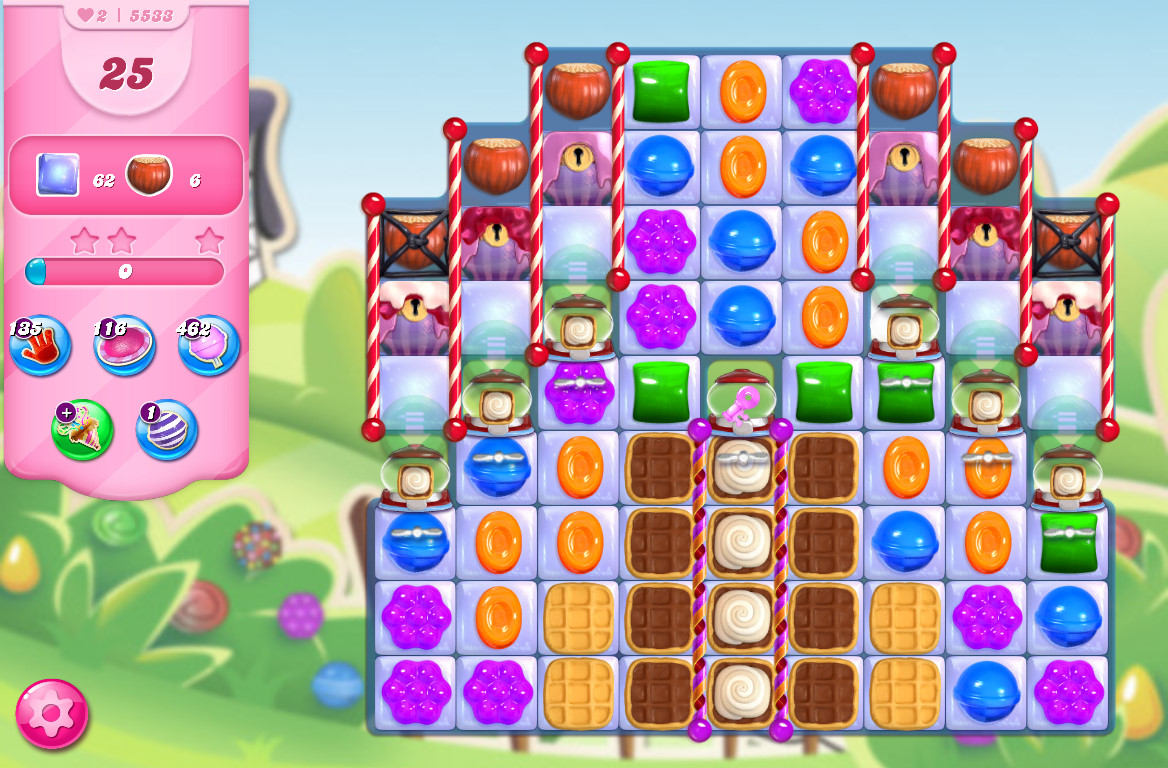 Candy Crush Saga level 5533