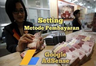 memilih metode pembayaran di akun AdSense