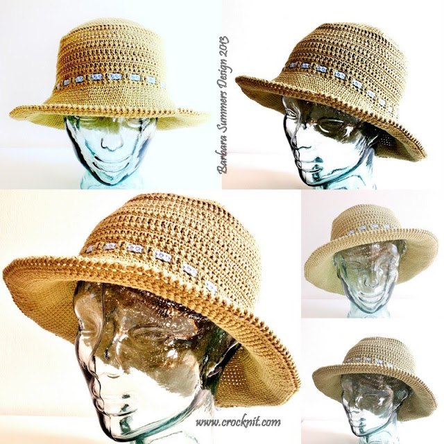how to crochet, sun hats, crochet patterns, wide brimmed hats, summer hats,