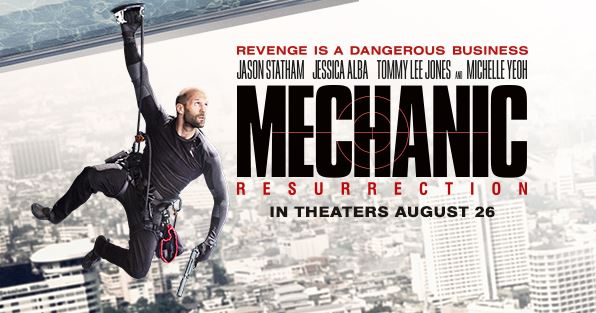 Mechanic: Resurrection (2016) Watch Online Hindi Dubbed Full Movie