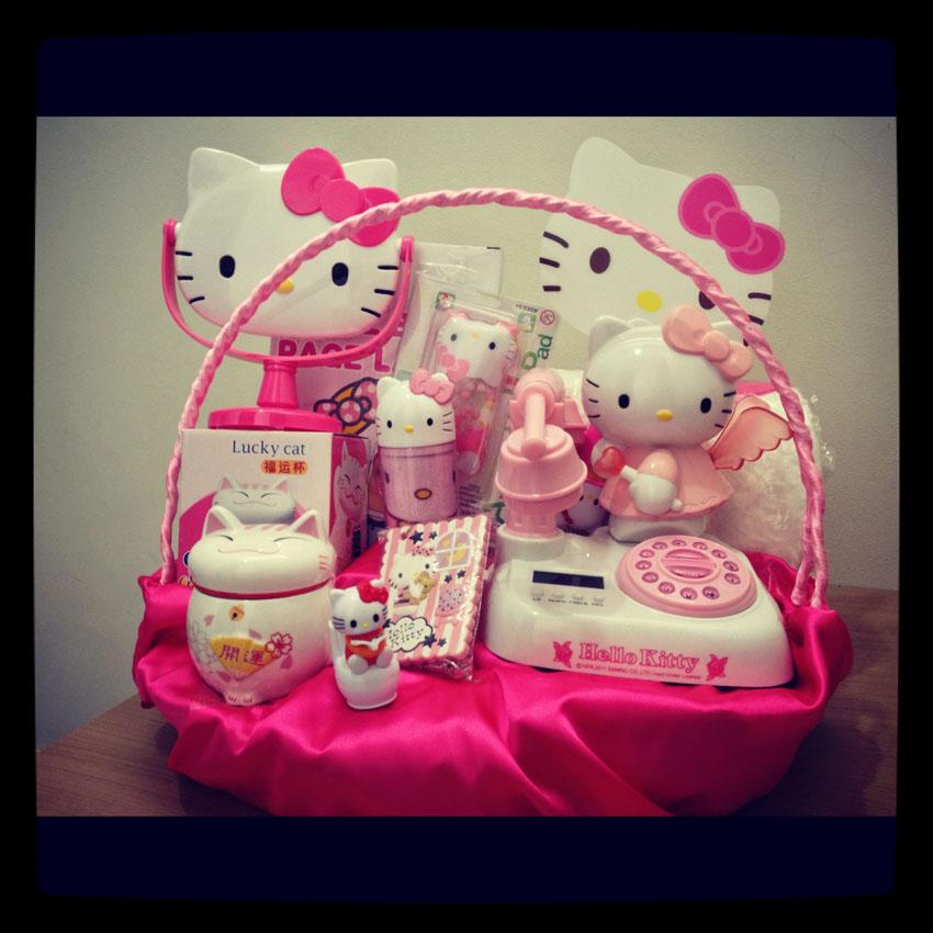 Kado Valentine Hello Kitty Miss Yuan Yuan Diary