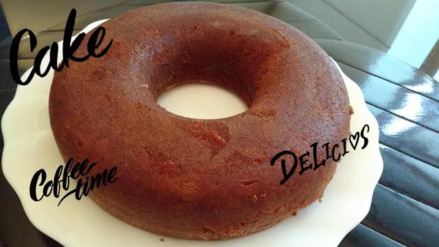 bolo de baunilha delicioso