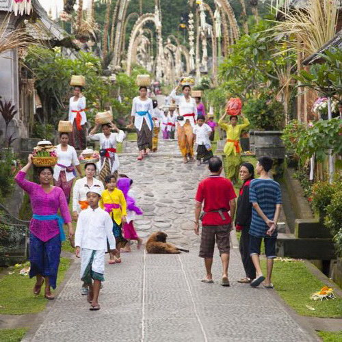Tinuku Travel Penglipuran village is indigenous layout, architecture and law of Balinese genuine culture still runs in scene